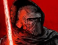 KYLO REN STAR WARS ILLUSTRATION