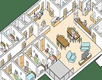 The senior citizens' home - 2
