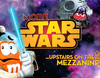 M&M's World Star Wars Shopfinder