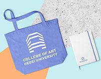 COLLEGE OF ART HEBEI UNIVERSITY 河北大学艺术学院标志设计