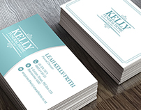 Kelly Funeral Home Business Card