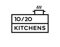 10/20 KITCHENS. Logo & Brand Identity