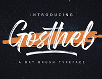 FREE | Gosthel Dry Brush Font