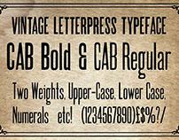 New Letterpress font