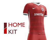 AC Sparta Praha Football Kit 16/17.