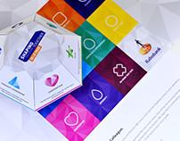 pop-up mailer, brochure & enveloppe