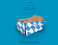 Google — Grand Tour: Italy illustrations