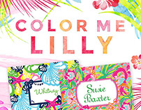 Lilly Pulitzer Product Spotlight Email & Social Media