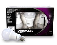 Duracell Ultra Light Bulb Packaging
