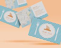 Diseño de tarjetas de visita Bella Cala