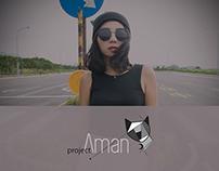Project Aman | Fashion branding