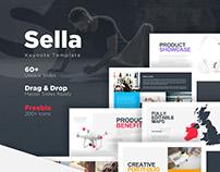 Sella Keynote Template + Free Slides