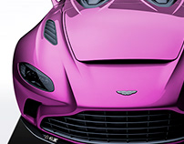 2020 Aston Martin V12 Speedster Persian Rose