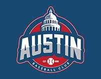 Austin Baseball Club Branding