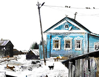wooden architecture of the russian North
