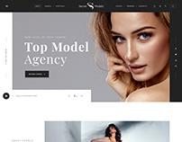 Model Agency Landing