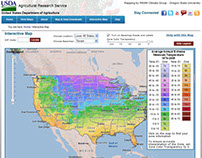 USDA Plant Hardiness Zone (November 2011)