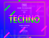 Home Tech Conference   Free Download Design Templates