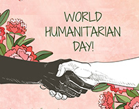 Humanitarian day-Social media
