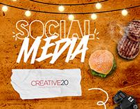 Social Media Hamburgueria