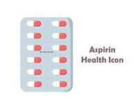 Aspirin Health Icon