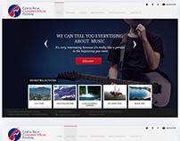 Music institute website
