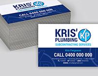 Kris' Plumbing Logo Design