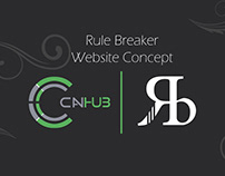Rule Breaker | Website Concept