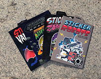 Stickerbomb Sticker Pack Collection
