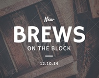 New Brews on the Block | Weekly Promo
