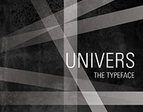 Univers: A Typeface Exploration