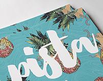 PISTA + •• DJ7 Gig Poster