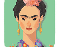 rocking ladies number 01: frida kahlo