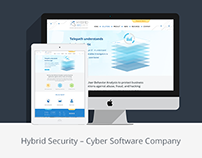 Website Redesign for Hybrid Security