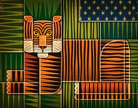 Patchwork Tiger