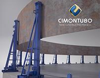 Cimontubo : Tank Constructive Process