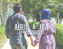 Aidil & Ida the photoshoot