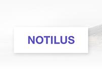 Notilus - Material App Landing Page
