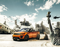 Be the last survivor - Range Rover Evoque
