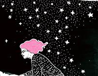The Void Girl - Ilustração