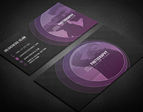 Abstract Photography Business Card