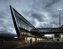 Bari Airport - 3D rendering