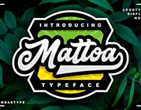 MATTOA - FREE SPORTS FONT