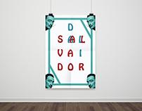 Salvador Dali Poster Design