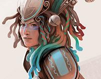 FUTURISTA: guerrera