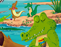 The Easter Crocodile in Storytime Issue 43