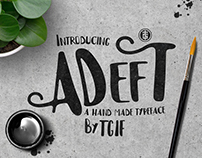 Adeft Typeface