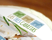 Goat Cheese Logo + Packaging - Las Tres Cabritas