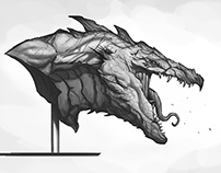 Proto drake head