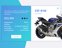 Product Card: Yamaha YZF‑R1M